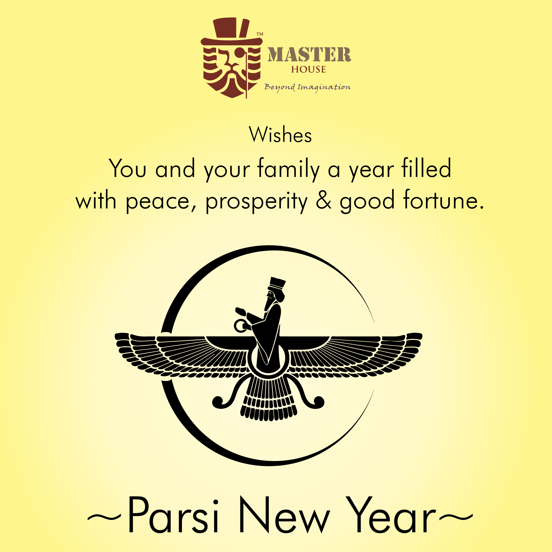 Master House Wishes You Happy Parsi New Year