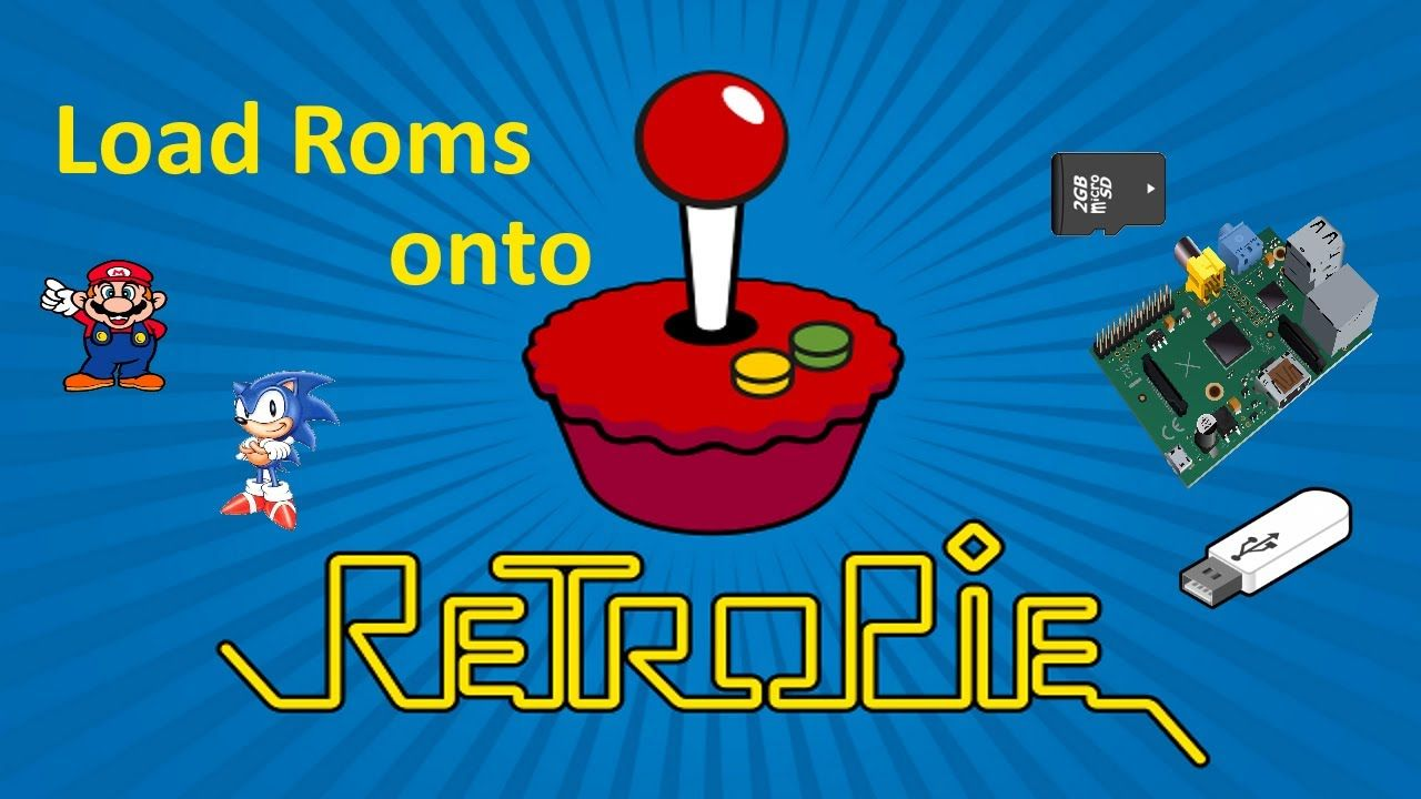 3 ways to load roms onto RetroPie - Run roms from USB and/or