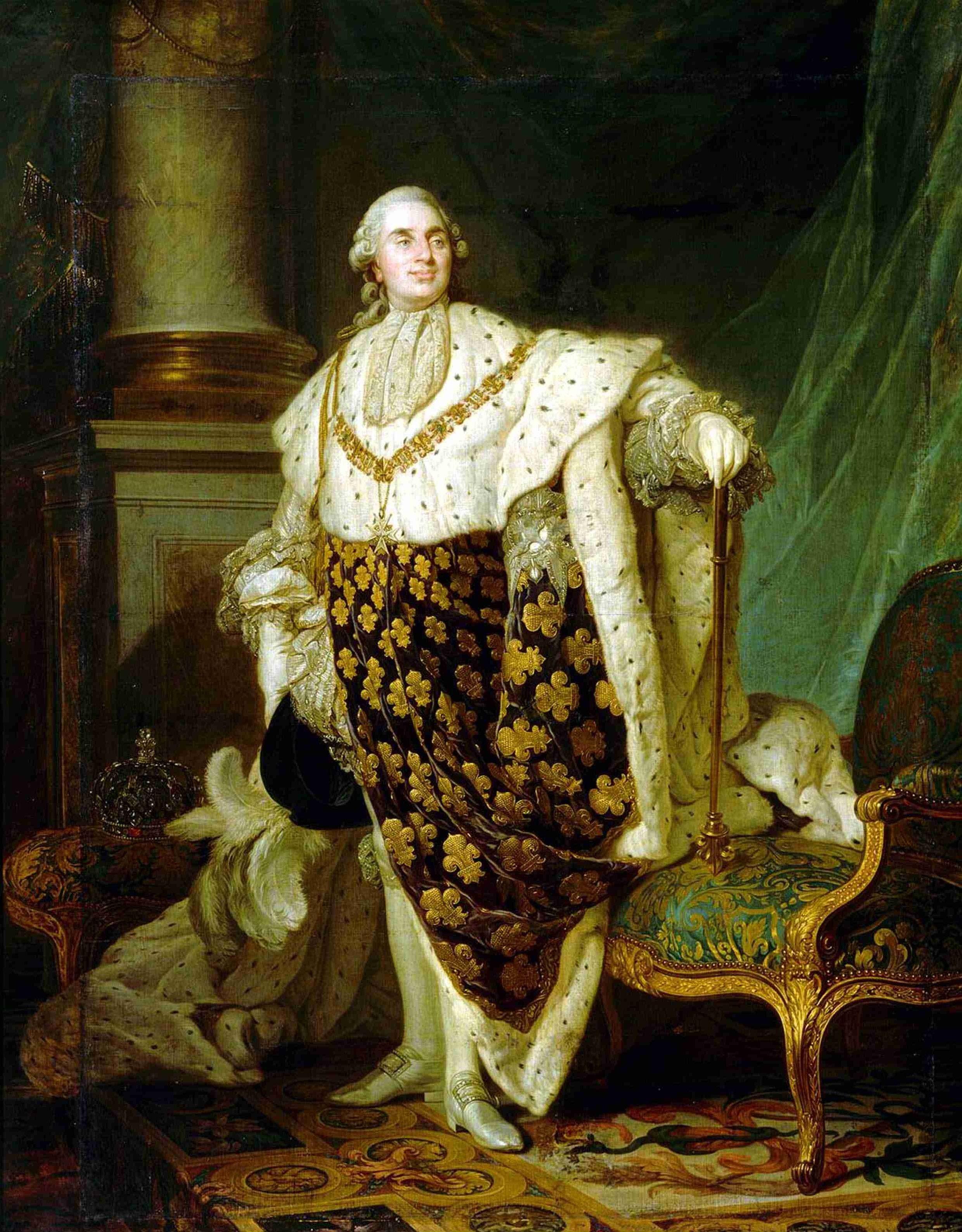 Louis Xvi En Habit De Sacre Jpg 2479 3177 Louis Xvi Luis Xvi De Francia Luis Xv De Francia