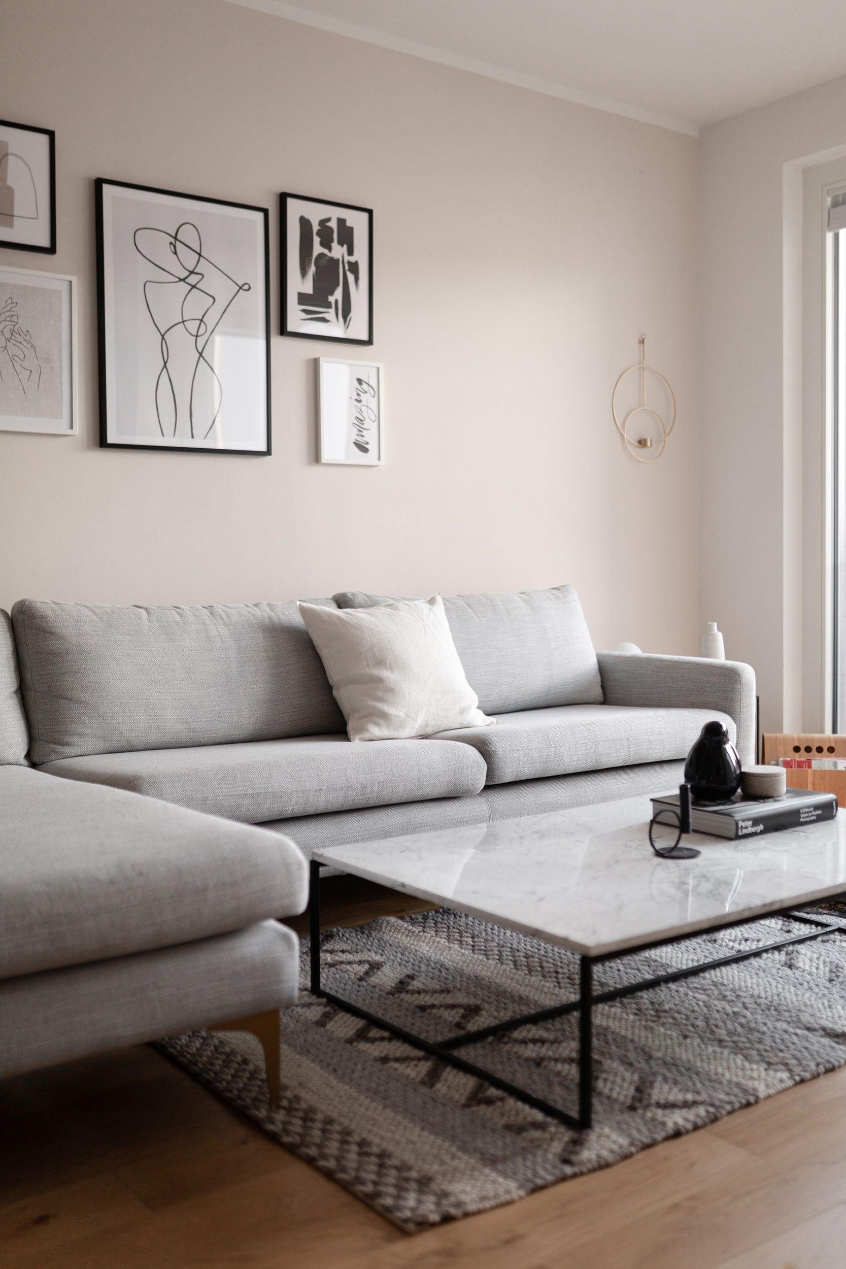 All Beige im Wohnzimmer - Wiener Wohnsinn Interior Design Blog