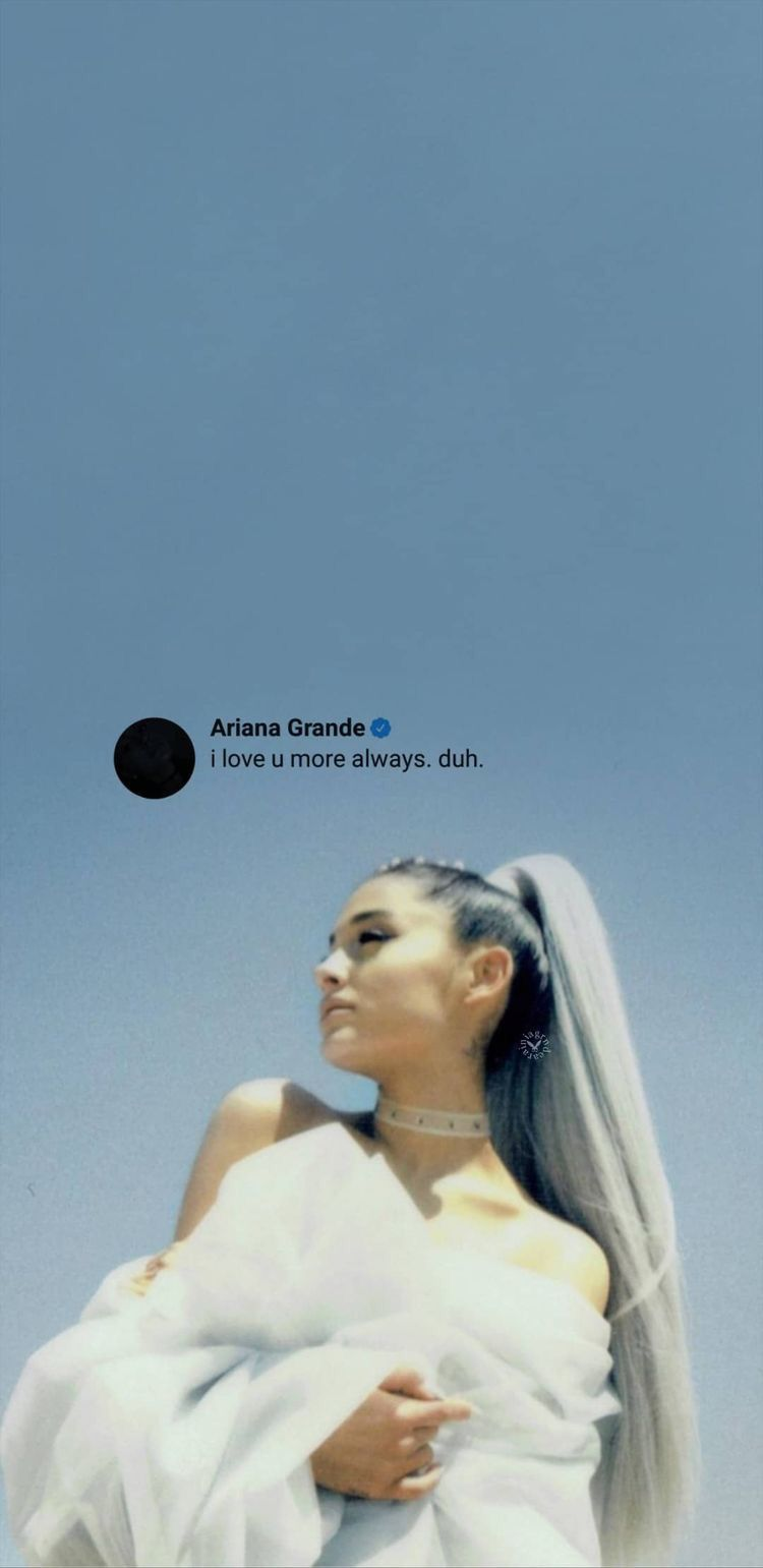 Pin On Ariana Grande Aesthetic Wallpaper