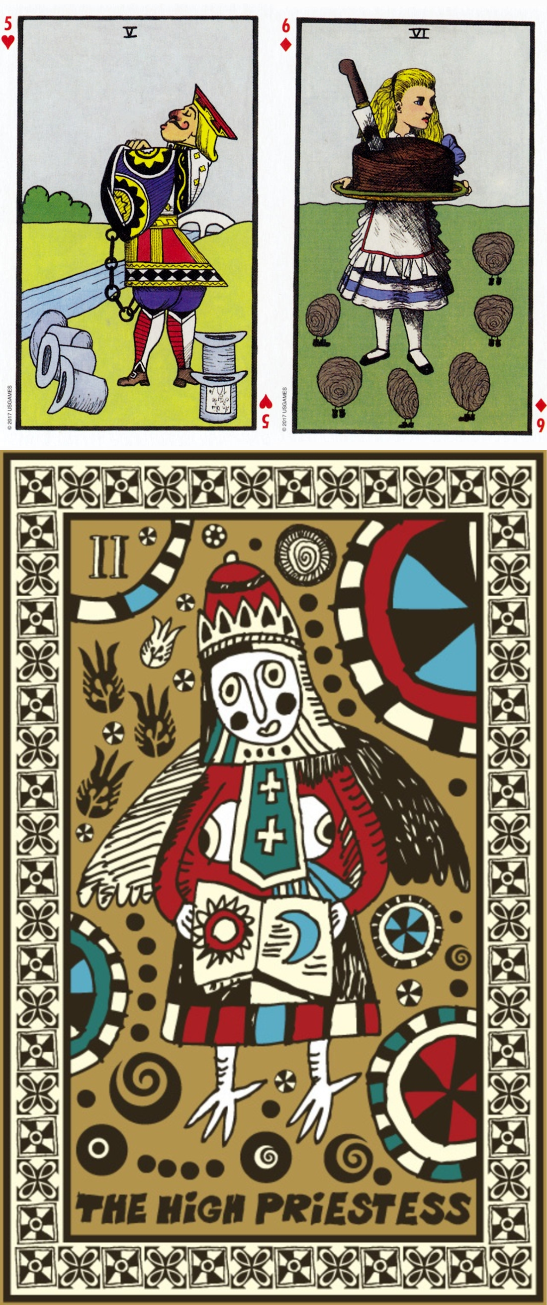 Free Latin Tarot Cards