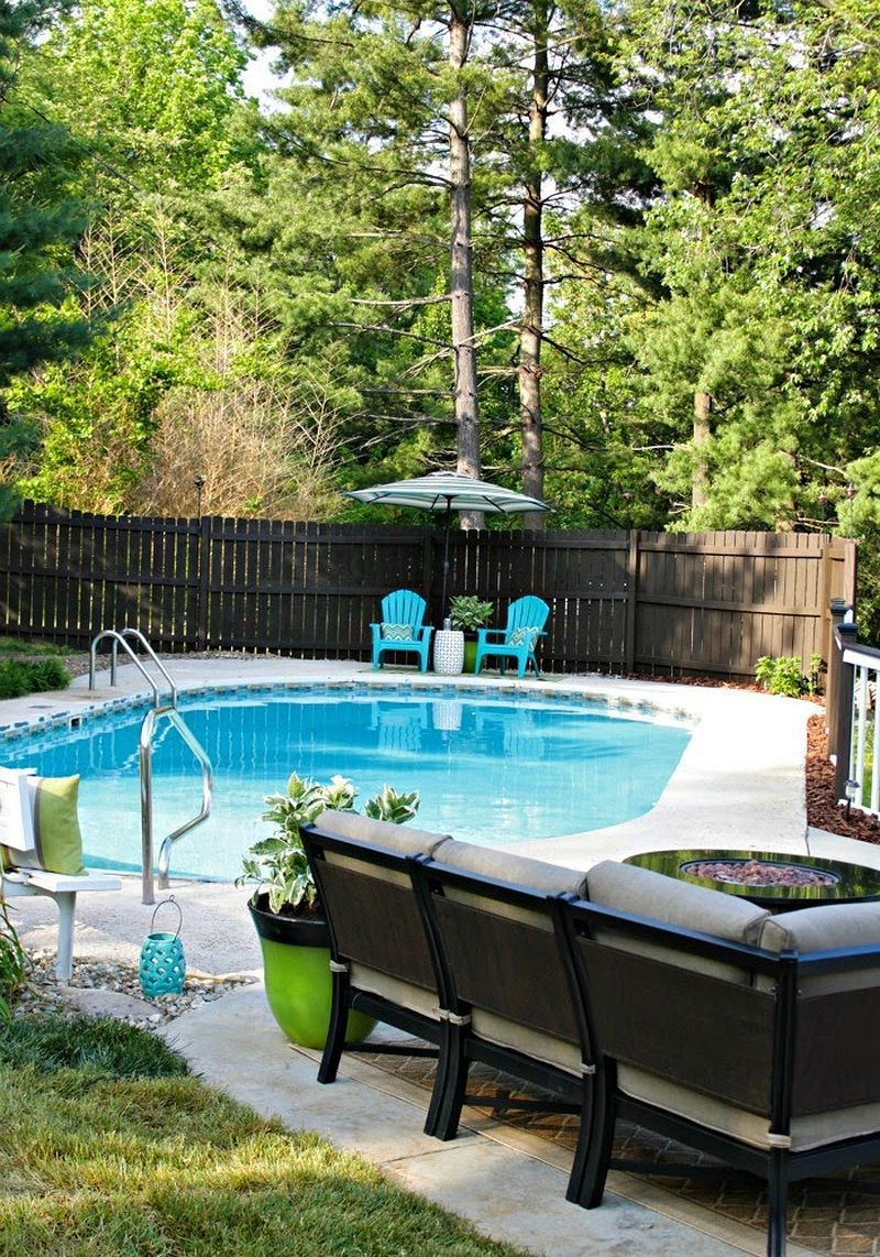 50 Swimming Pool Ideas For A Small Backyard Home Decor Backyard Makeover Backyard Small Backyard