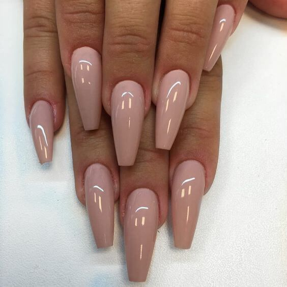 50 Awesome Coffin Nails Designs Youll Flip For   Coffin