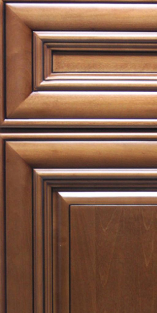 Chestnut Pillow Cabinet Door Sample   Discount kitchen ...