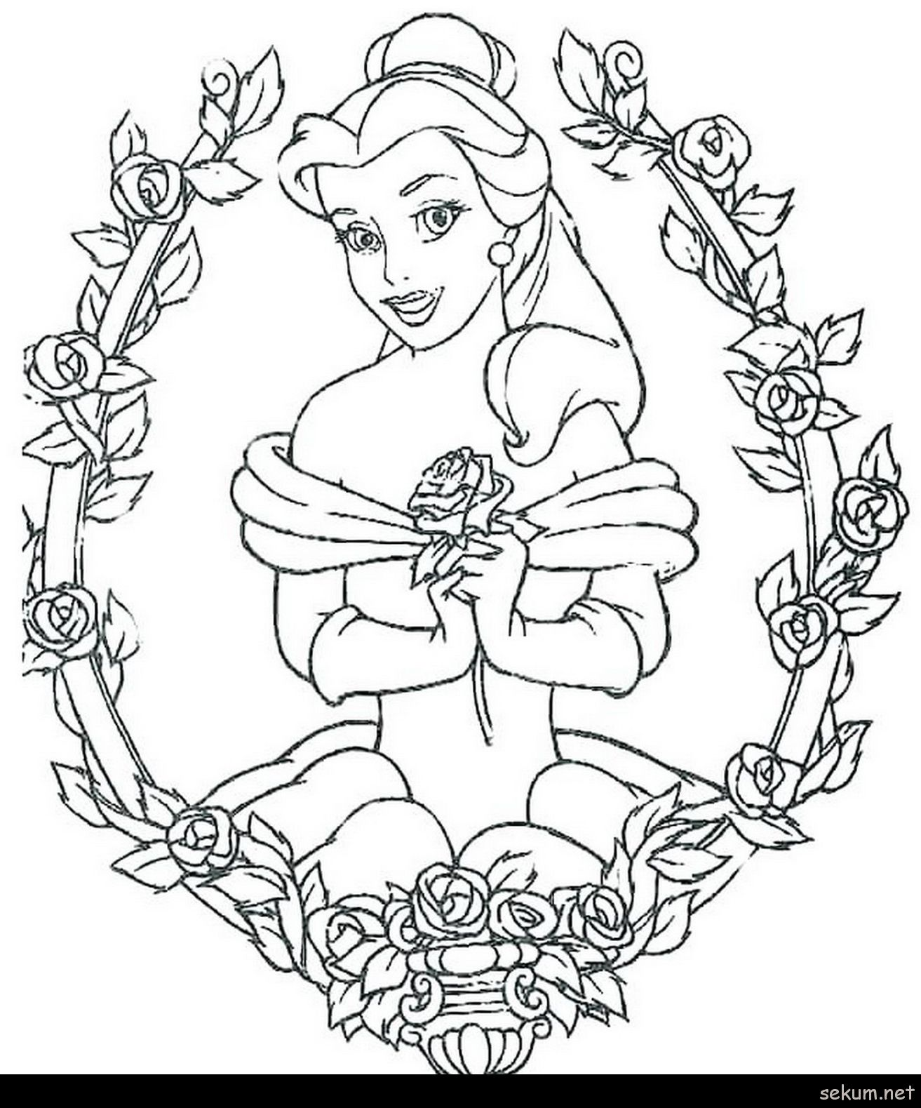 Pin By Supersonicglitchy4 On Animation Princess Coloring Pages Disney Coloring Pages Belle Coloring Pages
