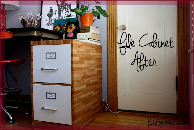 How To Paint Metal File Cabinet (With images) | Filing ...