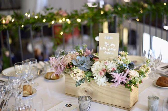 Centres de table pour mariage des réalisations canons pour une