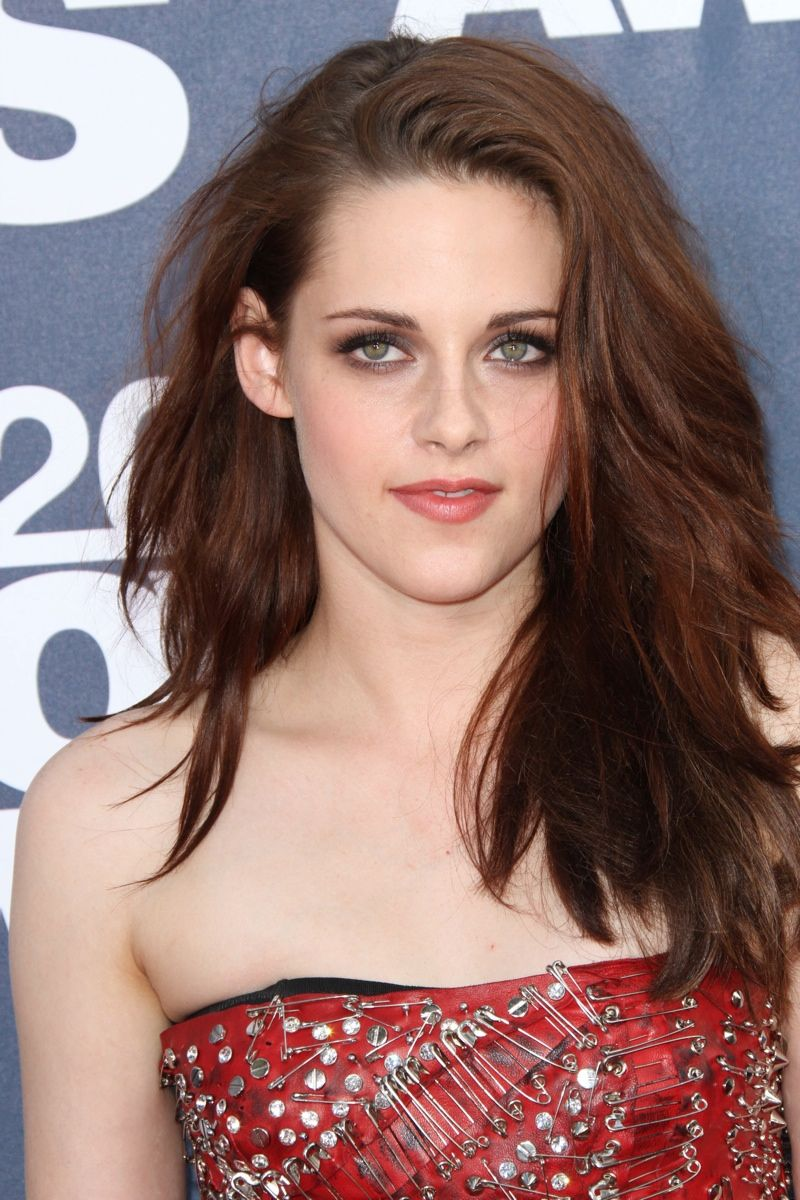Kristen Stewart Long Tousled Layered Hairstyle