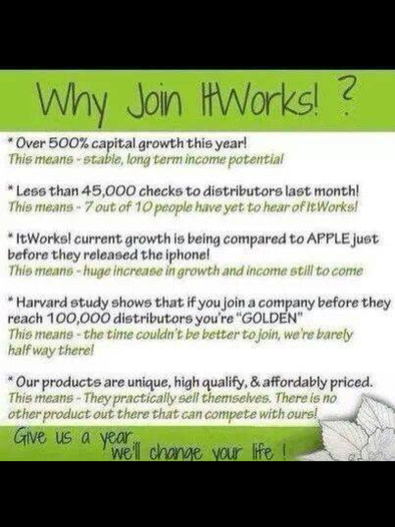 Call me if you are interested in starting your own home based ...