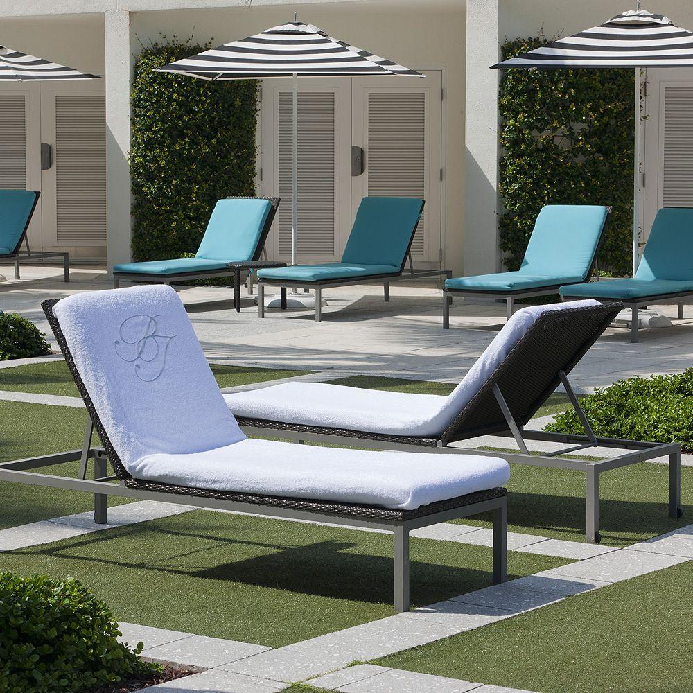 Lounge Chair Cover. Luxury Beach TowelsChair ...