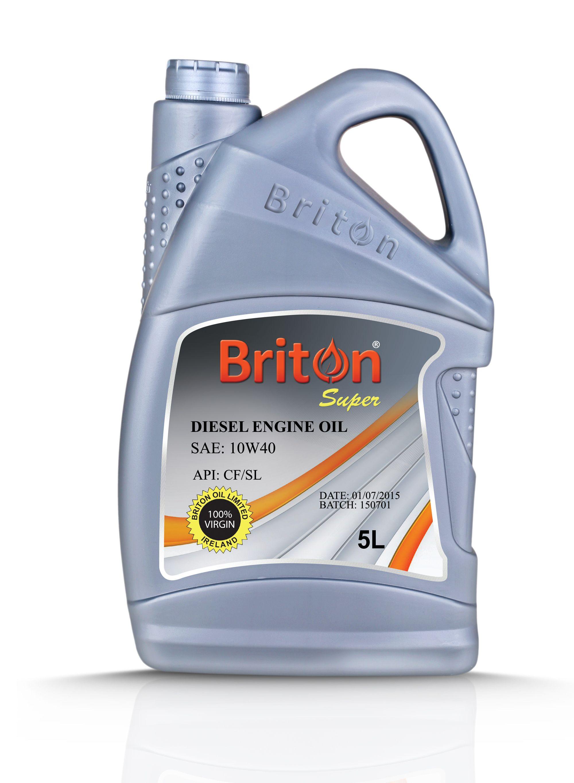 Briton Diesel Engine Oil Sae 10w40 Api Cf Sl Www Britonoil Com Motor Oil Diesel Engine Oils
