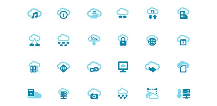 Free Cloud Computing Vector Icons Forpixels Design Freebie Free Cloud Cloud Computing