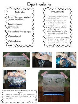Magnifico Cuaderno Interactivo Ciclo del Agua   otros   Pinterest ...