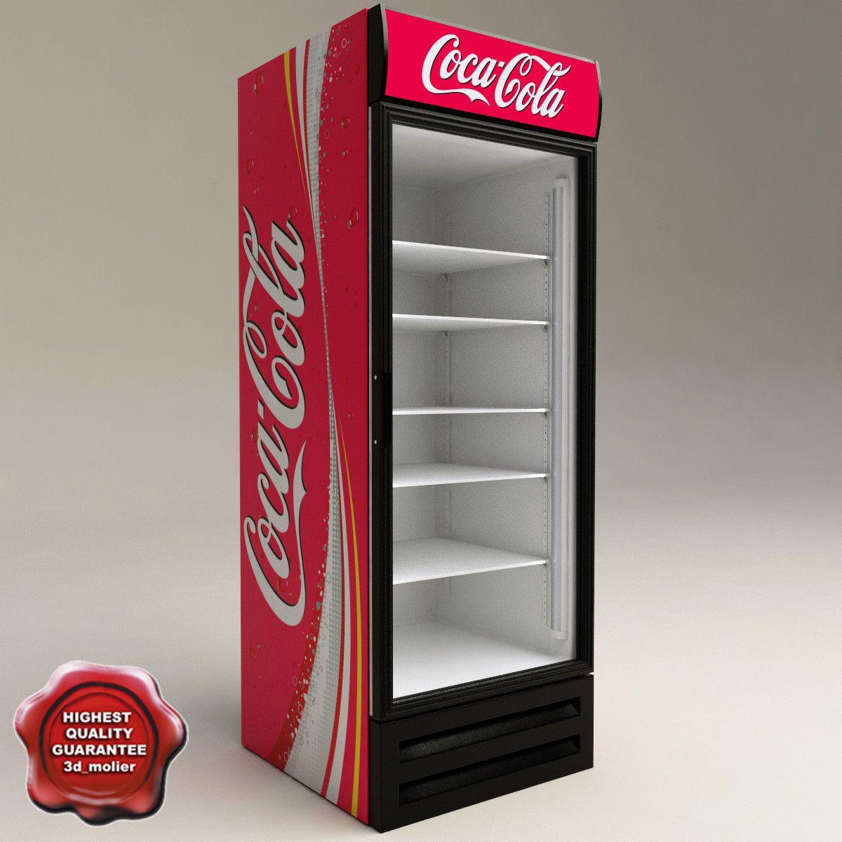 Pin By Robert Nowak On 3d Models Pinterest Refrigerator Coca