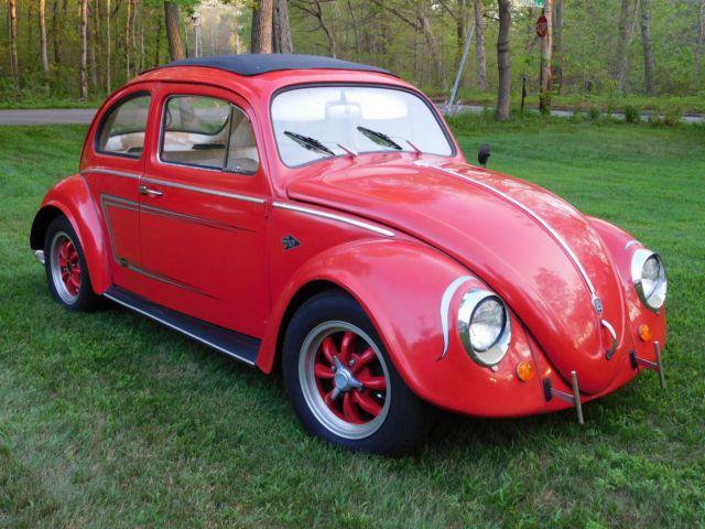 1961 Volkswagen Ragtop Sunroof Beetle Volkswagen Volkswagen Beetle Classic Cars Trucks
