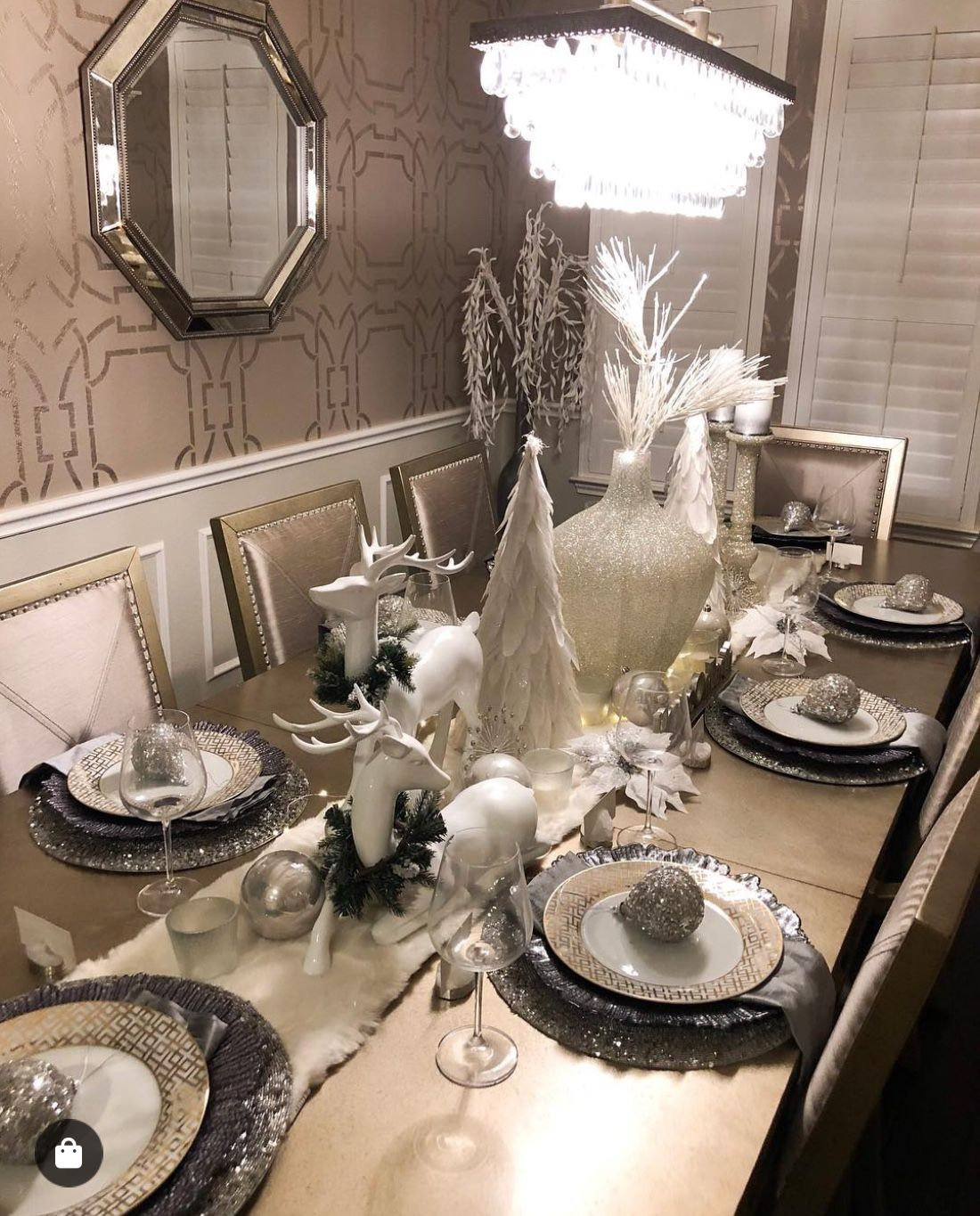 Z Gallerie Table Setting Dinning Room Table Decor First
