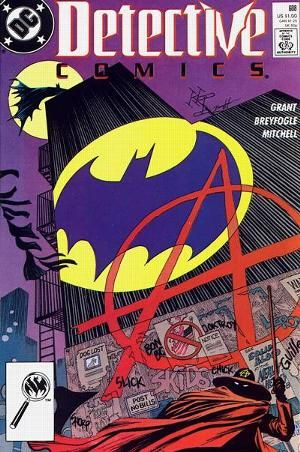 Detective Comics #608 first appearance of Anarky