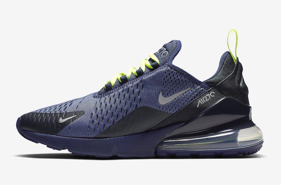 Nike Air Max 270 Blue Void Volt CD7337