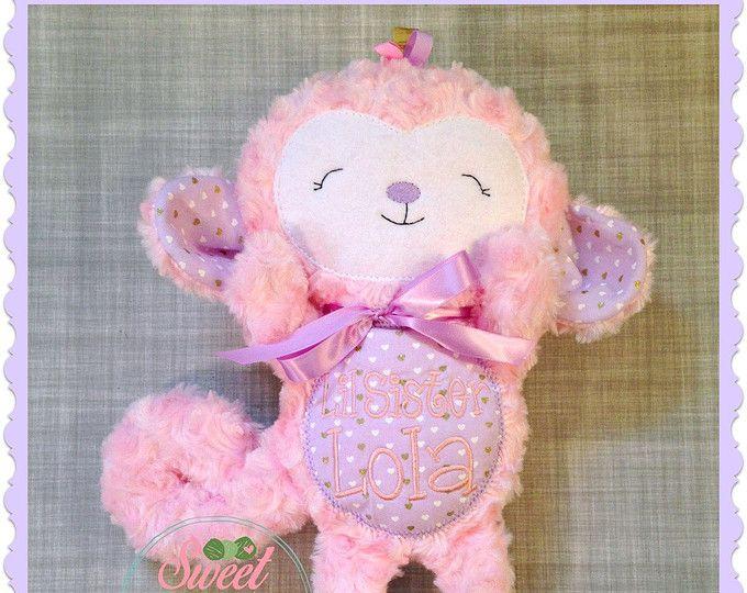 PDF PATTERN Baby Sock Monkey | Herzallerliebst | Pinterest | Plüsch ...