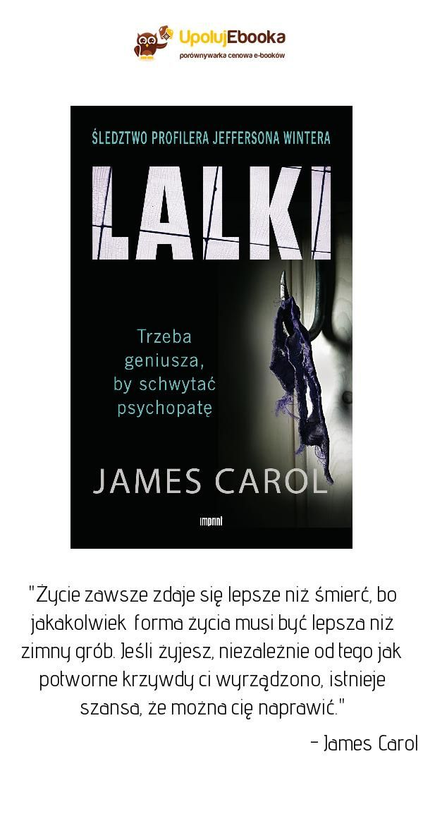 Lalki śledztwo Profilera Jeffersona Wintera James Carol
