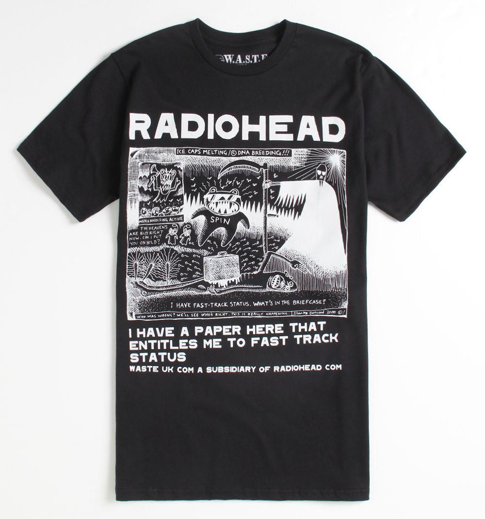 c8cf1a92 Fantastic Radiohead shirt... | clothing/style | Radiohead, T shirt ...