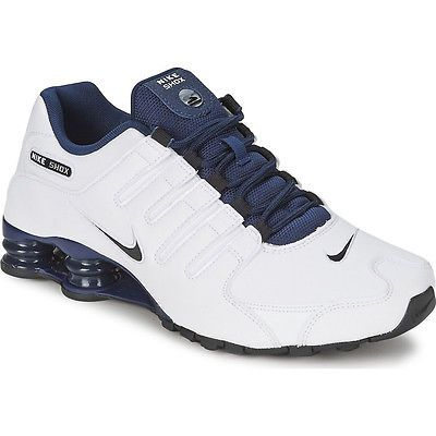 Nike Shox White And Blue