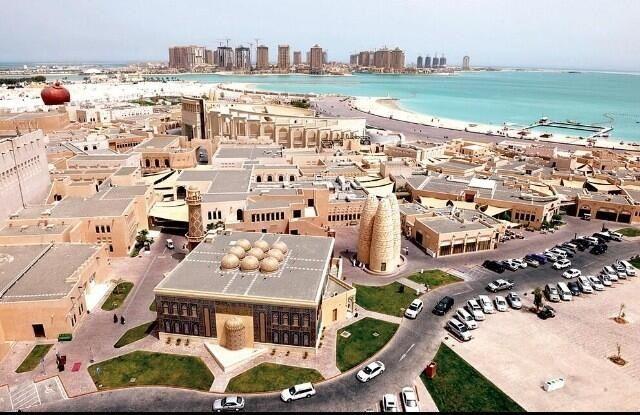 Katara is a cultural village in Doha, Qatar   Urban planning, Paris  skyline, Mansions