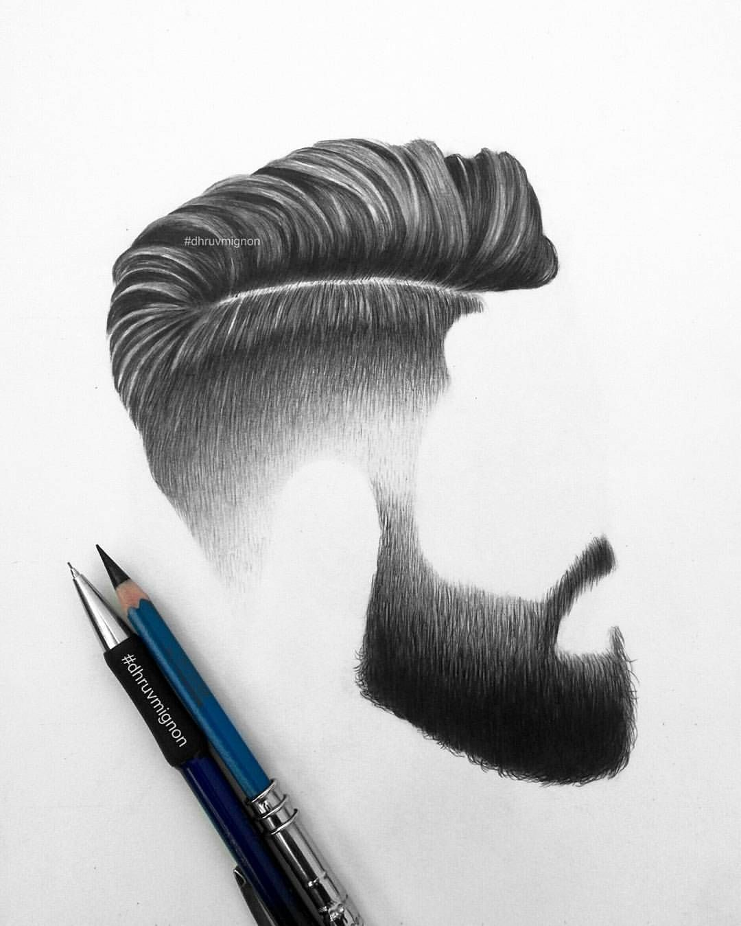 First Post Of 2018 Hair And Beard Detailed Art