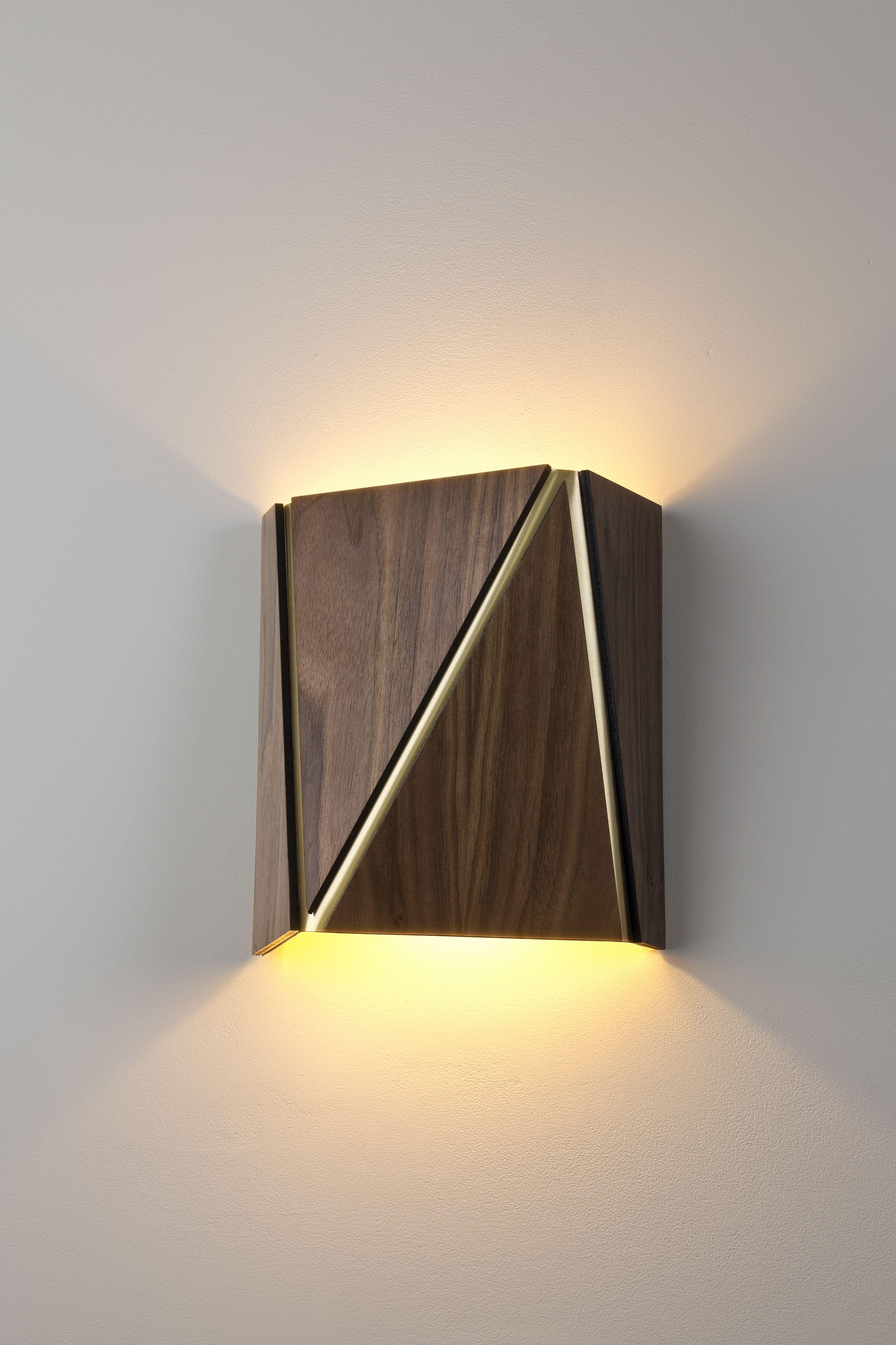 Calx sconce cerno Đèn pinterest lights lighting design and woods
