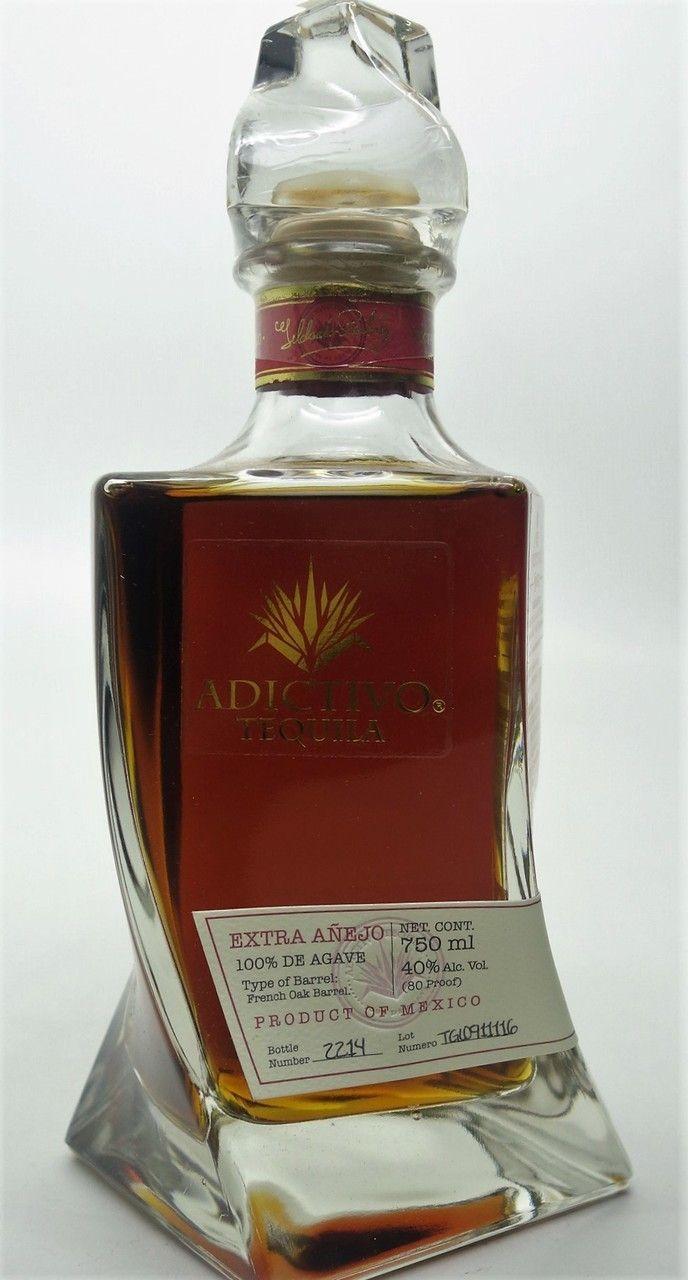 Adictivo Tequila Extra Anejo Tequila Bottles Alcohol Spirits Alcohol Bottles