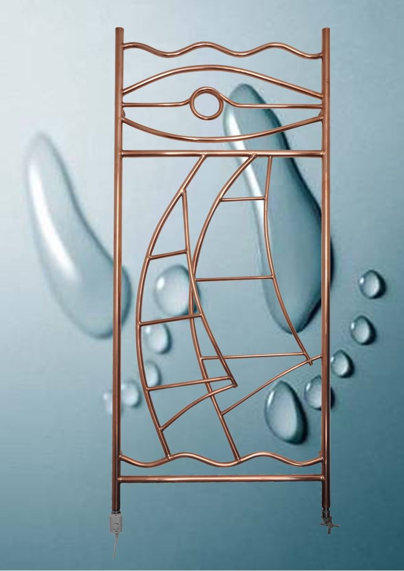 myartmakers thierry h copper radiator gocopper. Black Bedroom Furniture Sets. Home Design Ideas