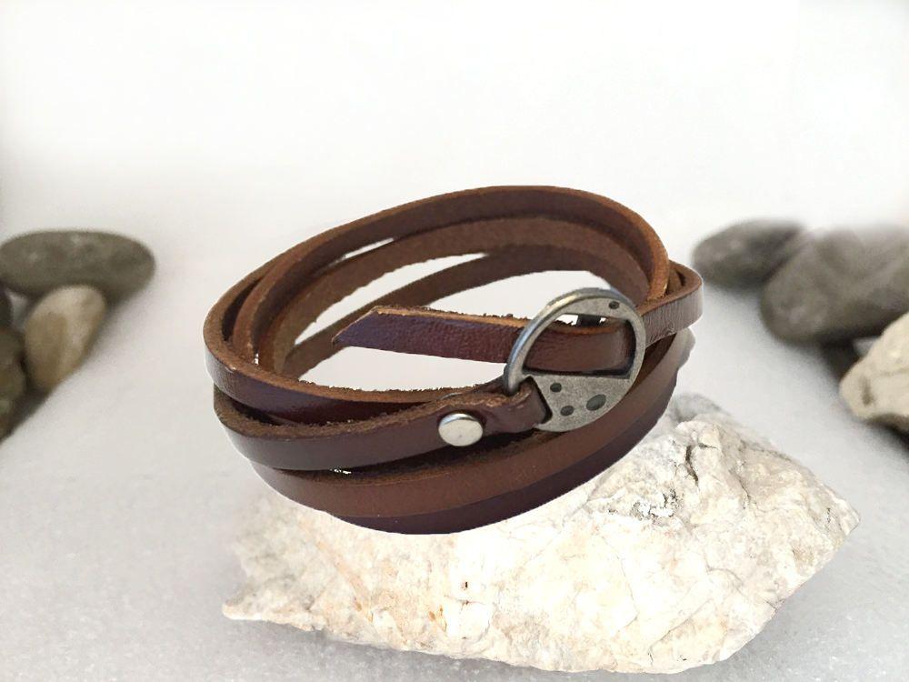 ee56d9ecc40 bracelet cuir longue lanière 1 mètre bracelet unisexe
