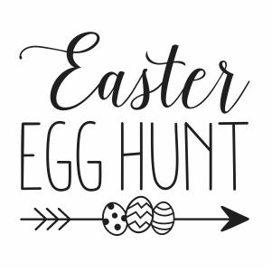 31+ Easter egg hunt clipart black and white information