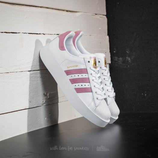 adidas Superstar Bold W Ftw White/ Wonder Pink/ Gold Metalic ...