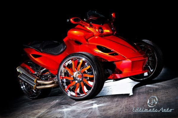 pictures of custom can am spyder google search can am. Black Bedroom Furniture Sets. Home Design Ideas