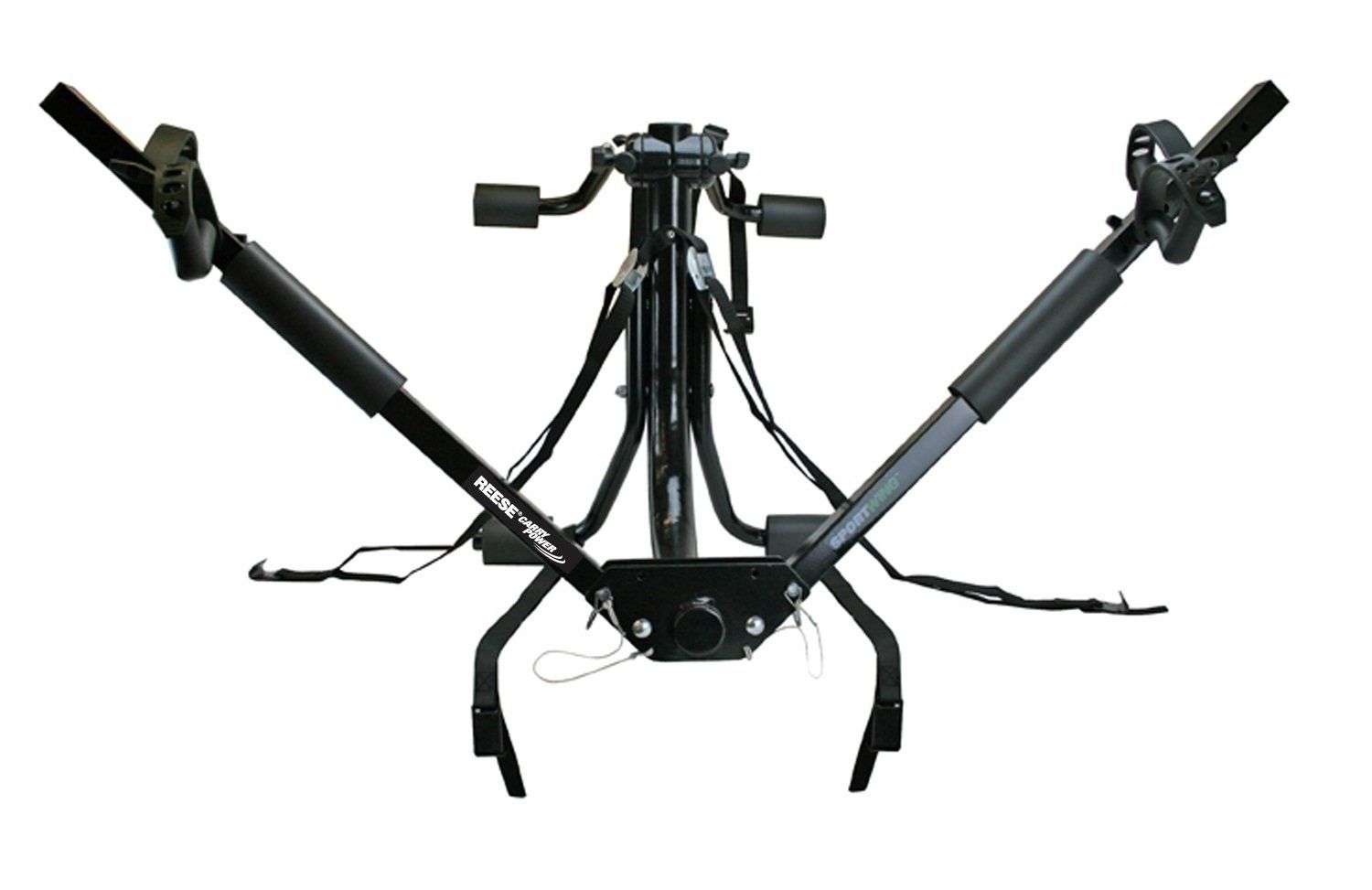 Reese Carry Power 1390400 Sportwing Trunk Mount Bike Rack Holds Two Bikes Any Shape And Style Adjustable To Fit B Trunk Mount Bike Rack Bike Rack Car Racks