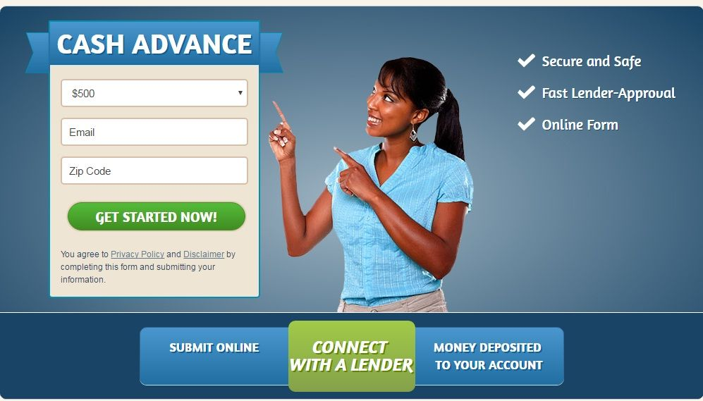 Cash advance money photo 1