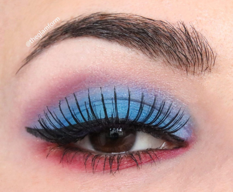 NYX Ultimate Eyeshadow Palette Blue look в 2020 г Макияж