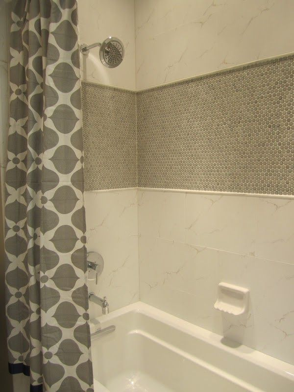 Penny Round Tile For Wall Accent Bathroom Interir Design Ideas