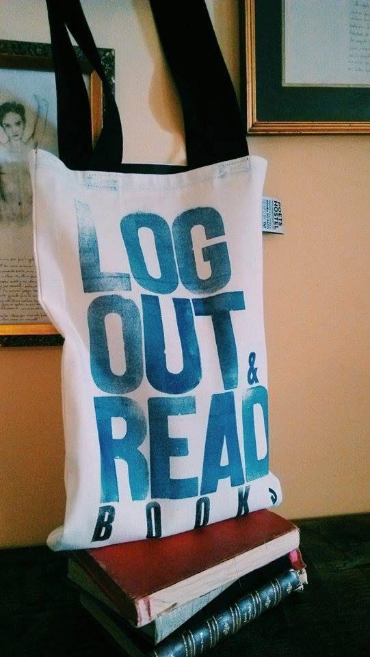 #totebag #tote #bag #canvas #hostel #books #poets #typography #print #handmade #summer #blackstraps #beach