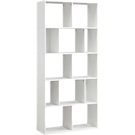 Mainstays 12 Cube Bookcase White Or Espresso Walmart Com White Bookcase Cube Bookcase Bookcase Design