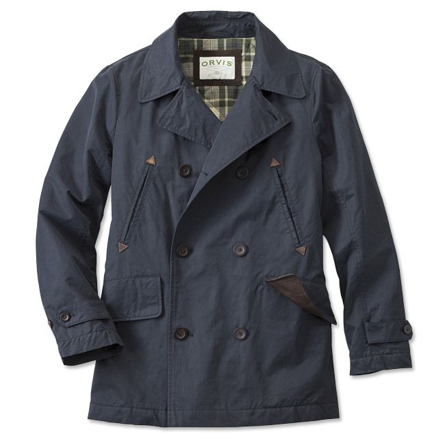 Just found this Wax Cotton Military PeaCoat - Wax Cloth Peacoat ...