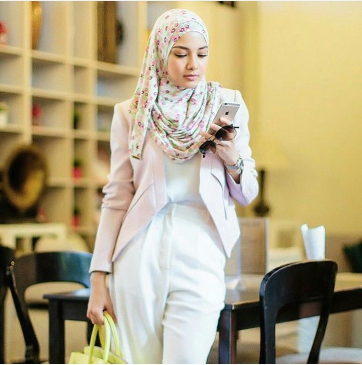 Image result for smart casual wear women hijab