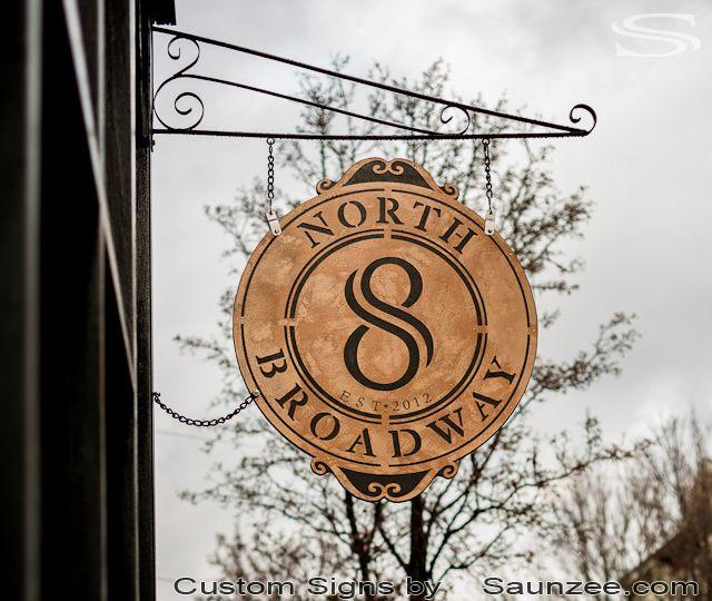 Saunzee Custom Restaurant Sign High Quality Business Signs