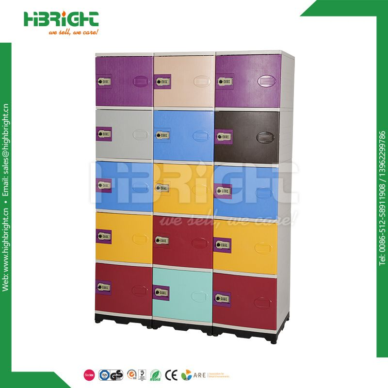 Hot Item Colorful School Locker Abs Plastic Storage Locker For Students In 2020 School Lockers Plastic Storage Locker Storage