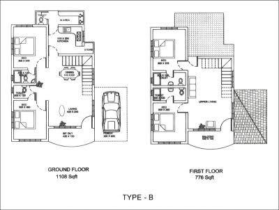 kerala home design floor plan - Google Search 1000 sq ft house - new park blueprint maker