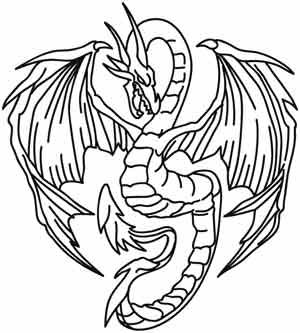 Embroidery Designs at Urban Threads - Dragon's Fury