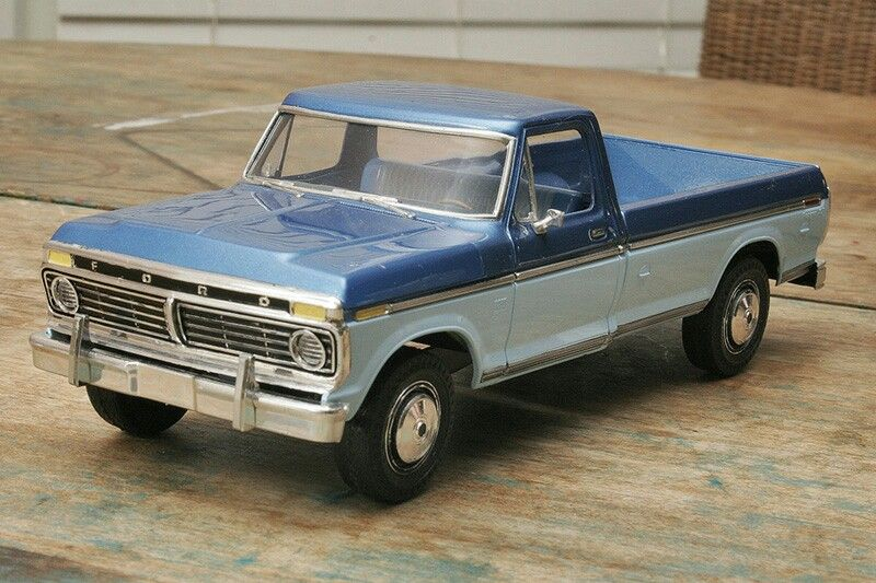 1976 Ford F100 Car Model Ford Truck Models Scale Models Cars