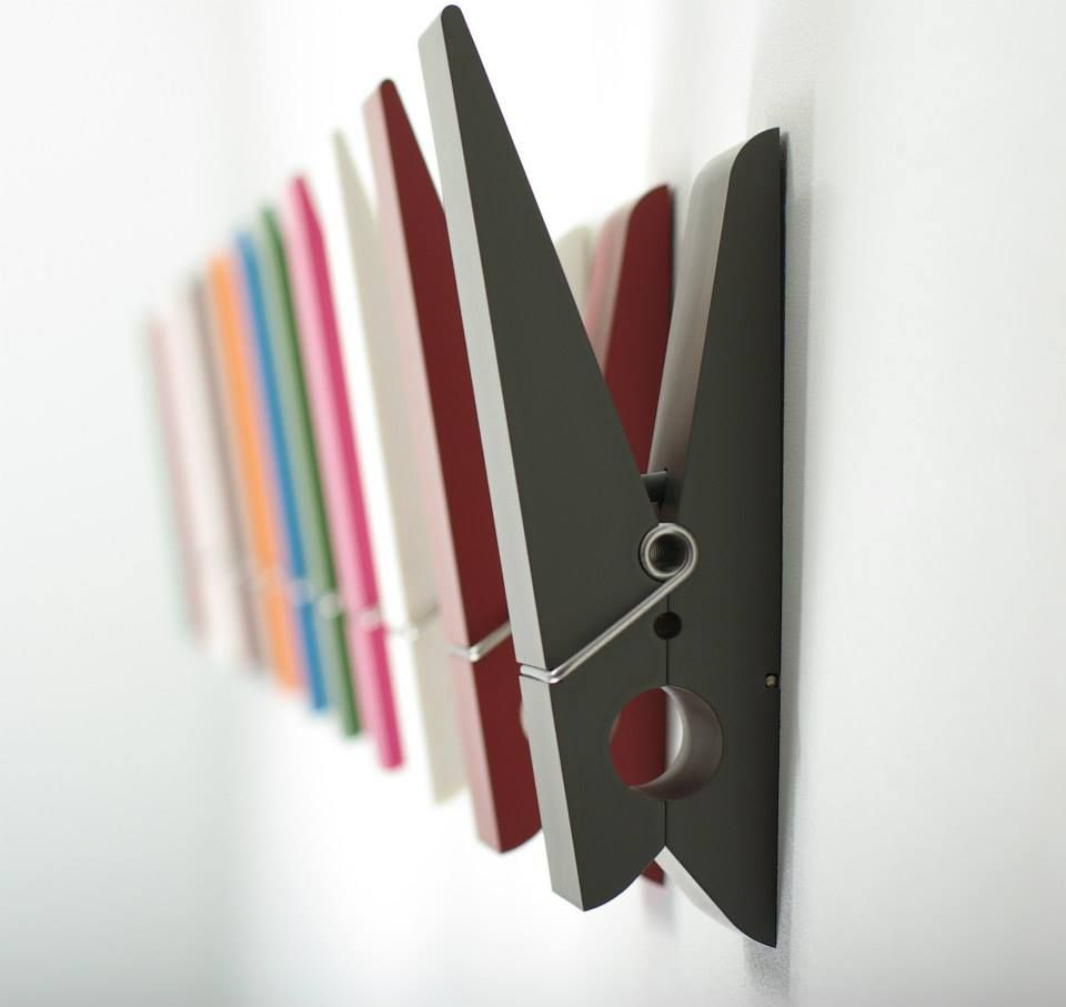 furniture-colorful-and-creative-wall-clothes-pin-hangers-by ...